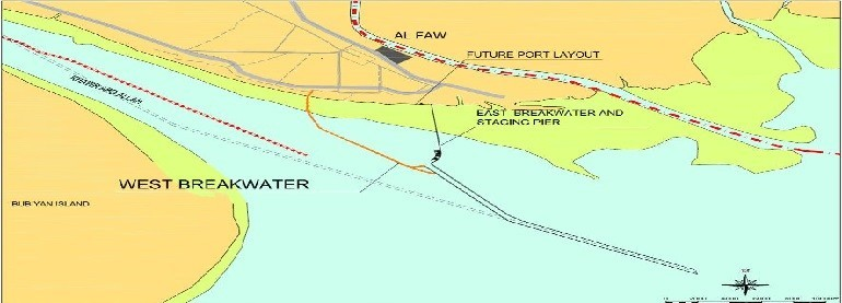 Western Breakwater for Al Faw Grand Port in Iraq토질분야 실시설계용역